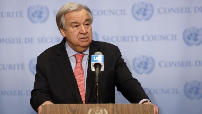 UN-Chef fordert mehr Anstrengungen im Kampf gegen Coronavirus
