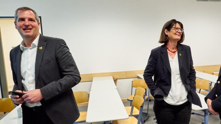 Wahlabend - Bgm Wahl Grafing Obermayr / Bauer