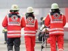Katastrophenschutzübung zur Fußball-EM 2020