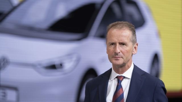 VW: Vorstandsvorsitzender Herbert Diess