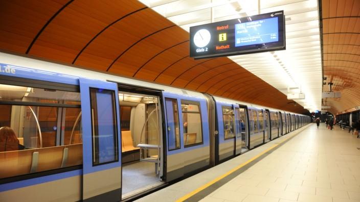 Leere Wagen: Wegen des Coronavirus geht es auch in den Bahnhöfen der Stadt derzeit deutlich ruhiger als sonst zu.