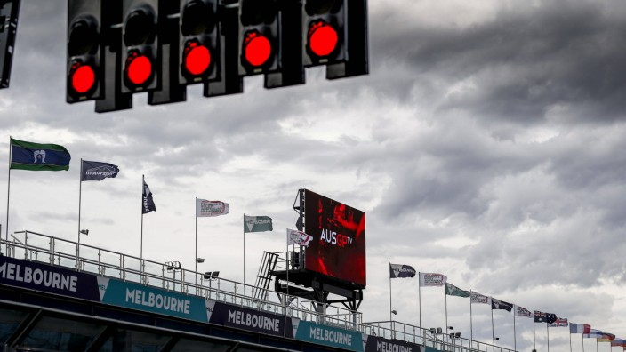 Sport Bilder des Tages Motorsports: FIA Formula One World Championship, WM, Weltmeisterschaft 2020, Grand Prix of Austra