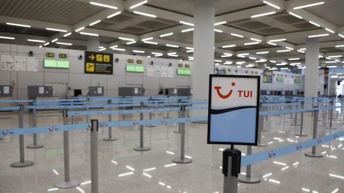 Tui unterbricht Großteil des Reisebetriebs
