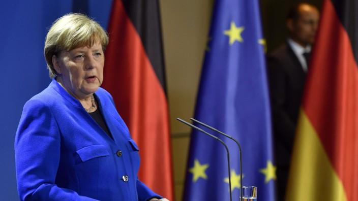 """Deutsche EU-Ratspräsidentschaft: Angela Merkel will mit viel Geld Europa aus der Wirtschaftskrise holen: """"Das Notwendige ist in diesem Fall etwas Außergewöhnliches."""""""
