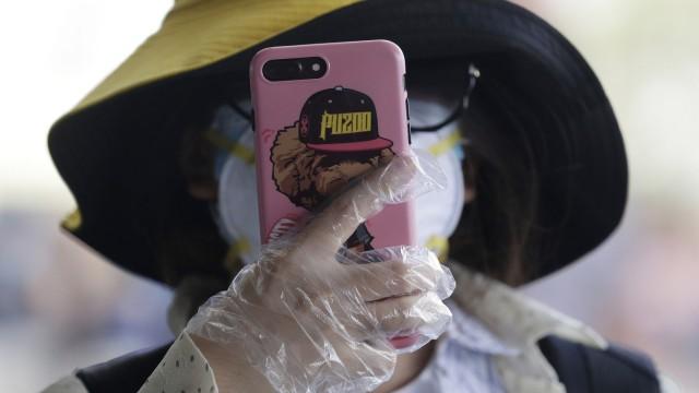 Coronavirus Smartphone