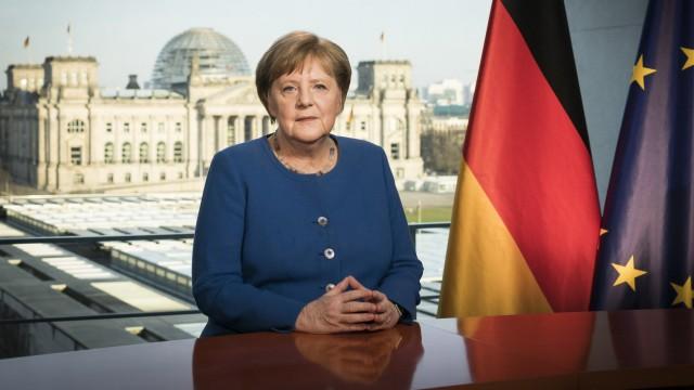 Coronavirus Merkel Ansprache
