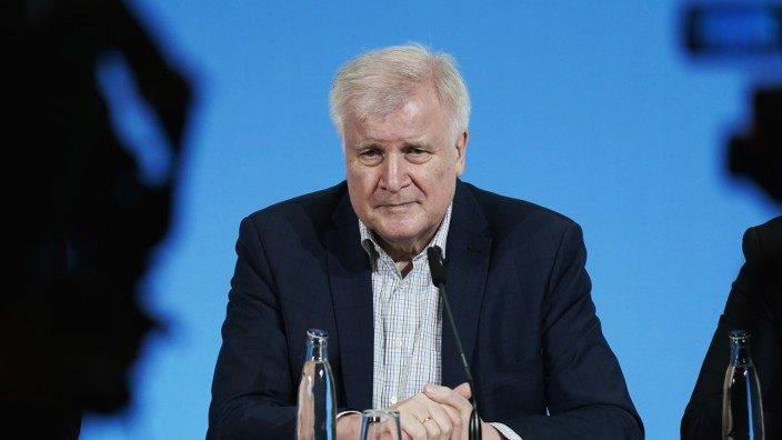 Interior Minister Seehofer Announces New Measures To Counter Coronavirus Spread