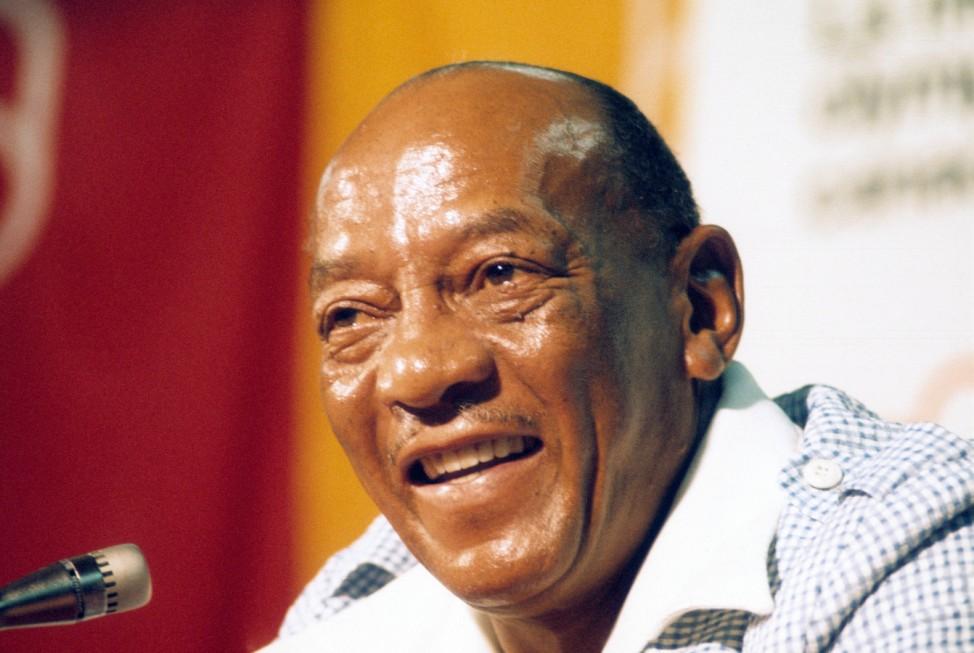 Jesse Owens USA vierfacher Leichtathletikolympiasieger bei den Berliner Sommerspielen des Jahres; Jesse Owens