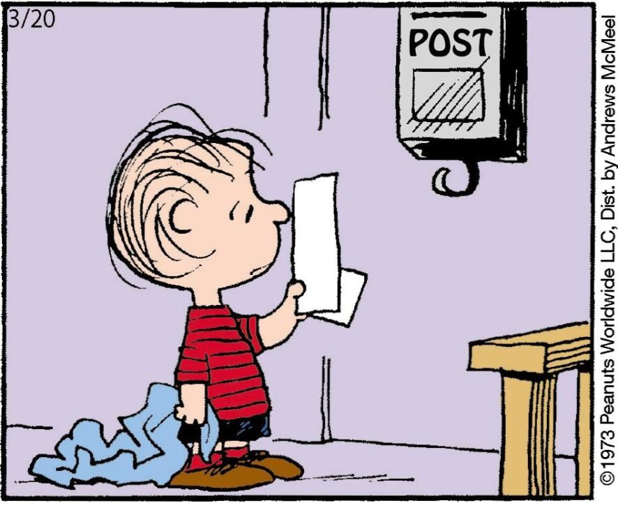 Peanuts für März 2020