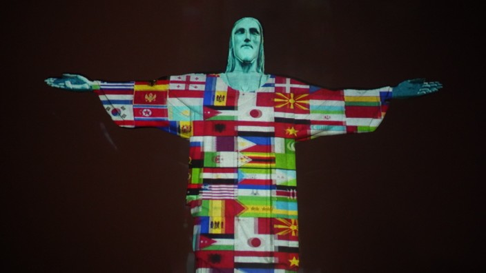 Celebration Mass at Christ the Redeemer Pays Homage to Countries Affected by the Coronavirus (COVID - 19) in the World