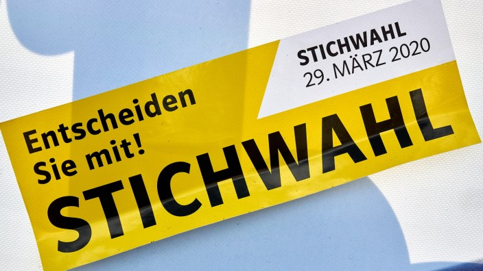 Stichwahl bei der Kommunalwahl im Landkreis Ebersberg, 2020