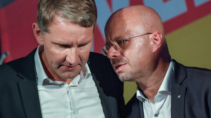 Björn Höcke und Andreas Kalbitz