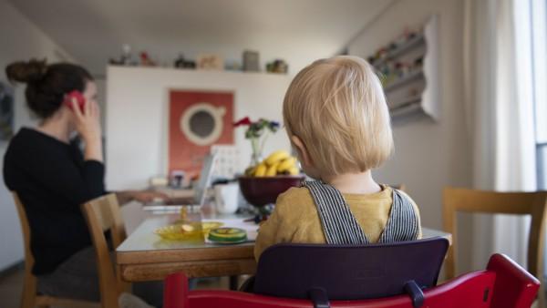 Coronavirus - Homeoffice mit Kinderbetreuung