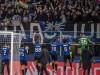 Supporters (Atalanta) during the Uefa Champions League Round of 16 match between Atalanta 4-1 Valencia CF at Giuseppe Me