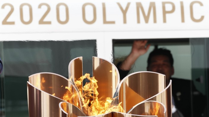 Tokio 2020 - Olympisches Feuer in Japan