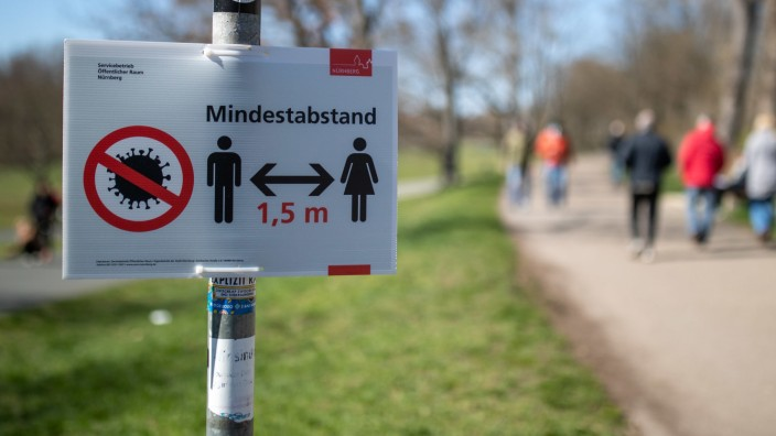 Coronavirus Pandemie In Bayern Ruckblick April 2020 Bayern Sz De