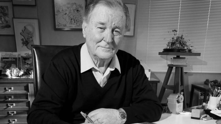 Albert Uderzo Zeichner Asterix