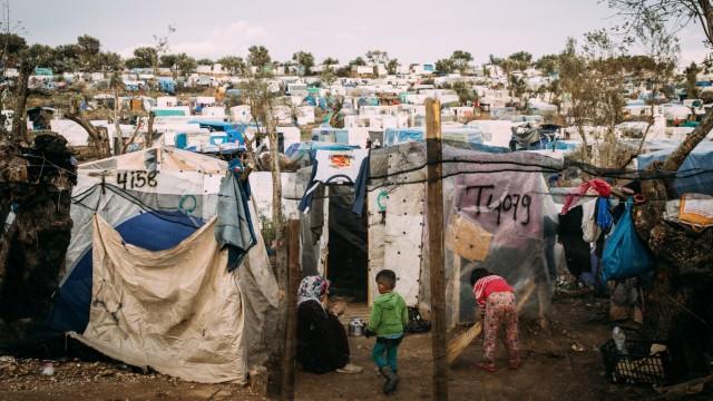 Flüchtlingslager Griechenland Coronavirus