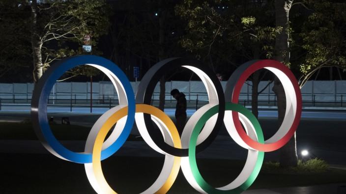 Olympia Tokio - Olympische Ringe