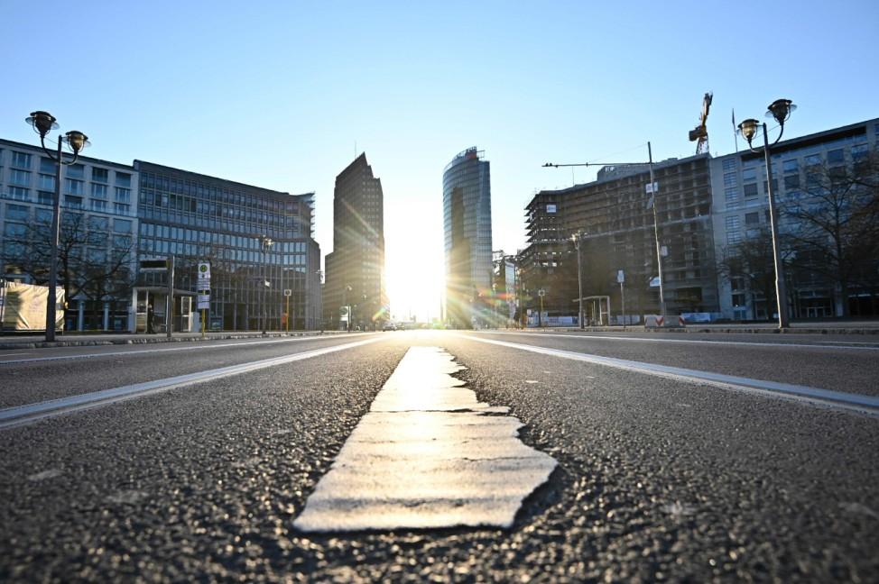 Coronavirus - Ausgangsbeschränkung in Berlin