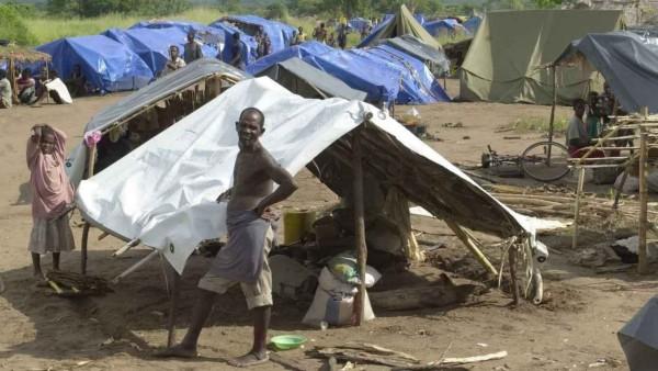 HOCHWASSERKATASTROPHE IN MOSAMBIK