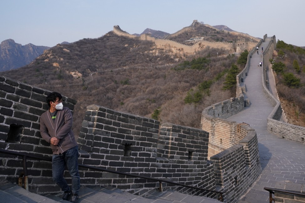 BESTPIX - China Opens The Great Wall To Tourists As Global Coronavirus Cases Climb
