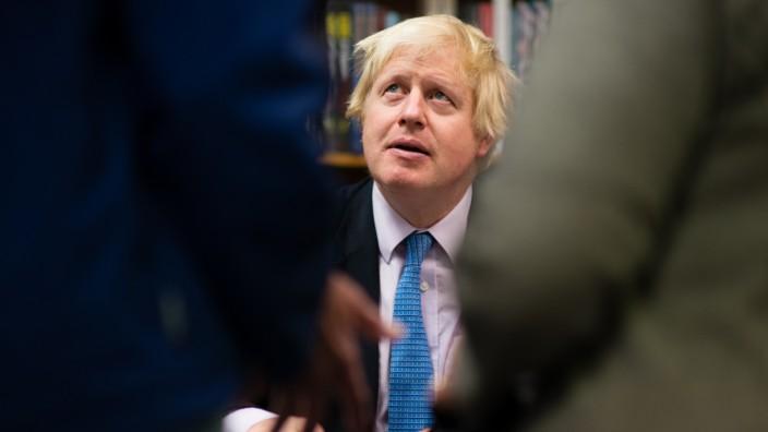 Brexit-Kolumne Affentheater Kennedy Boris Johnson