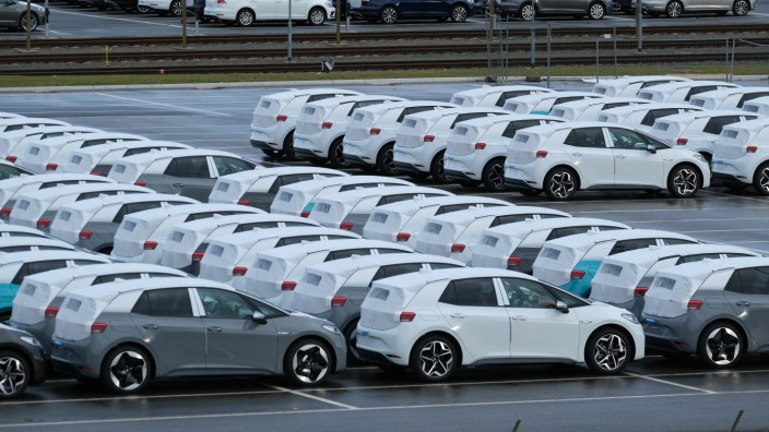 FILE: Volkswagen To Suspend Production In Europe In Face Of Coronavirus Volkswagen Revs Up ID.3 Electric Car Production At Zwickau Plant
