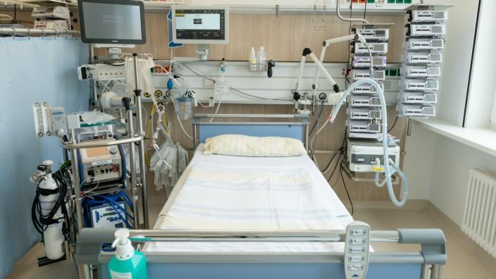 Coronavirus Intensivstation Kliniken Bayern