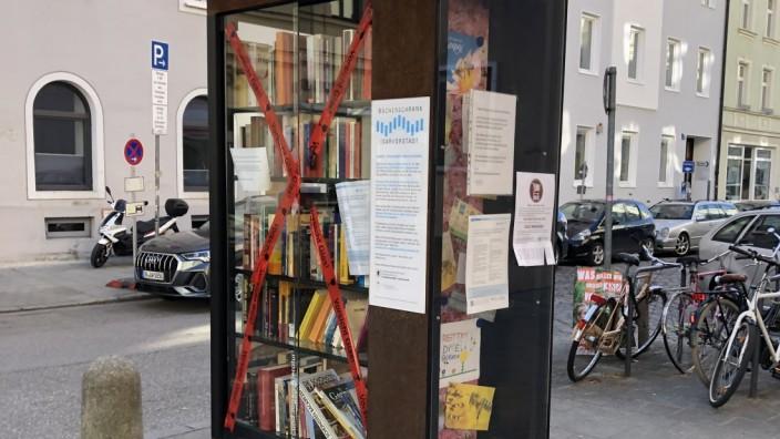 Bücherschrank Dreimühlenviertel
