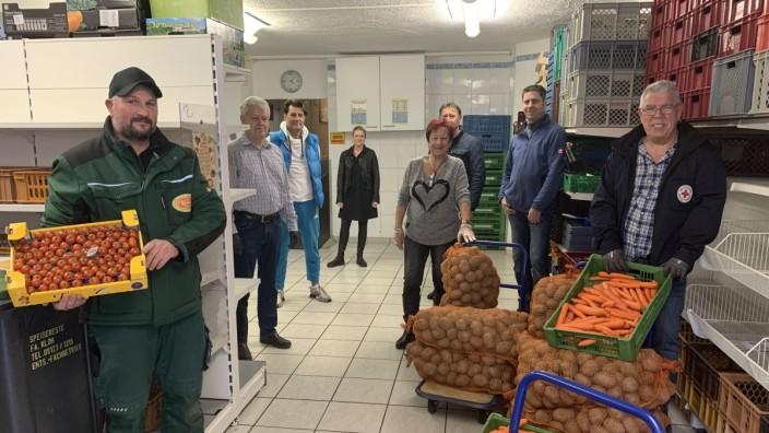Tafel Dachau richtet Notbetrieb ein