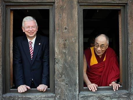 Roland Koch Dalai Lama