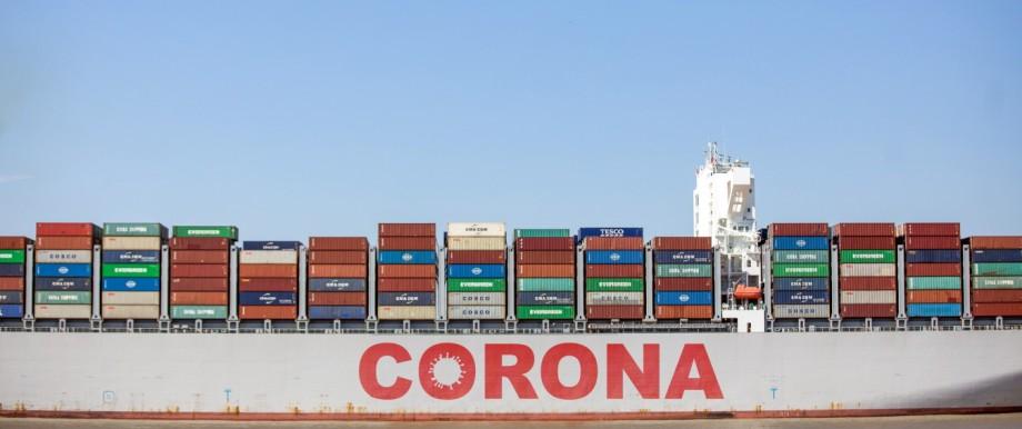Shipping At The Port Of Felixstowe Ltd. As U.K. Brings In Law That Mat Shut Port