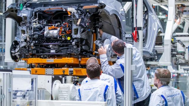 Höherer Bonus an VW-Tarifbeschäftigte