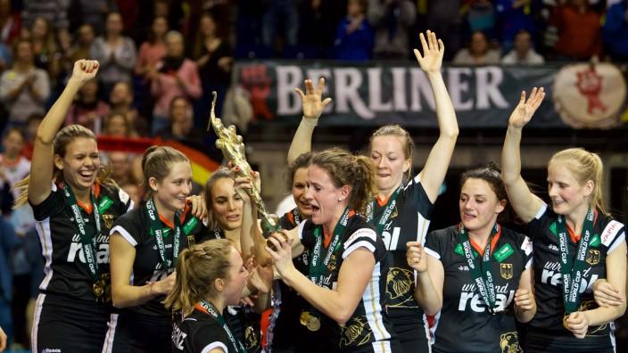 Hockey Berlin 11 02 2018 Hallenhockey Weltmeisterschaften Indoor Hockey World Cup 2018 Frauen Damen