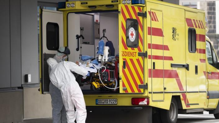 Coronavirus - Patienten aus Italien zur Behandlung in Dresden