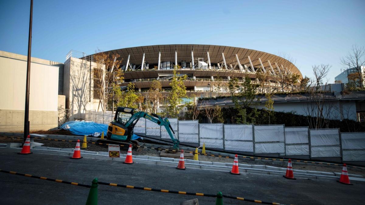 Olympia-Verschiebung: Weiterbauen für 2021