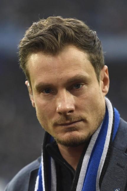 Marcell Jansen, Portraet, Portrait, Kopf, Fussball 2. Bundesliga, 23.Spieltag, Spieltag23, Hamburger SV (HH) - FC St. P; Jansen
