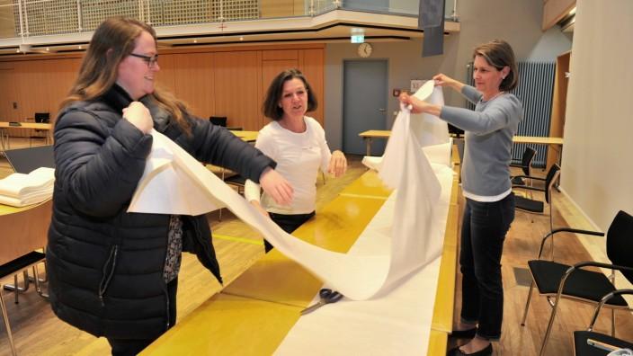 Starnberg: LRA Stoffe für Mundschutzmasken