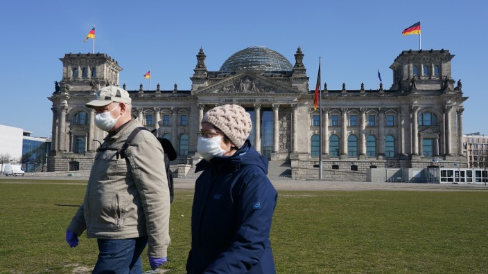 Bundestag Debates Legislation To Counter Coronavirus Effects