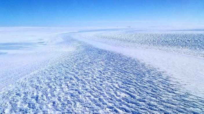 Klimawandel: Ein Rückzug des Denman-Gletschers könnte auch Folgen für die Stabilität des Shackleton-Schelfeises haben.