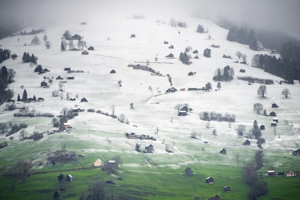 Schnee am Studnerberg