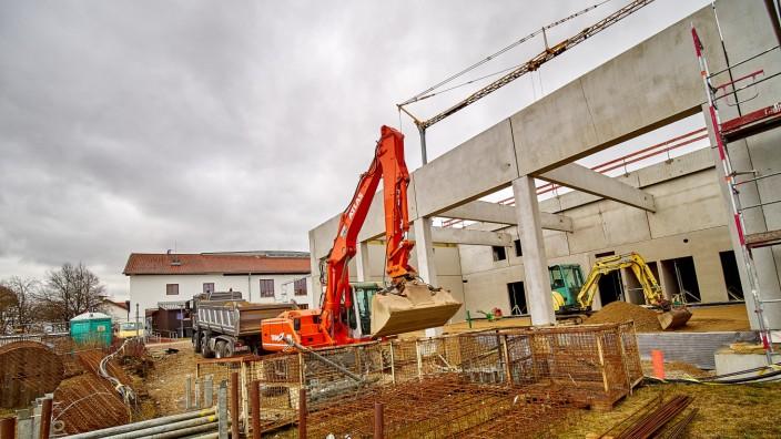 Pliening Feuerwehrhaus Neubau
