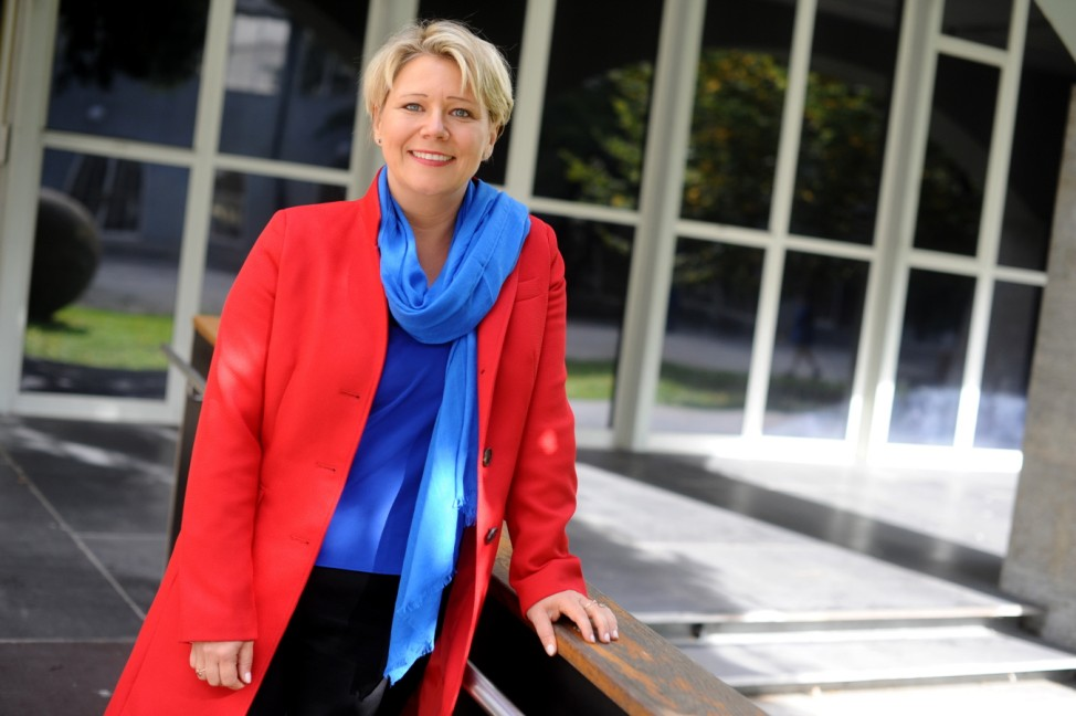 Andrea Betz in München, 2019