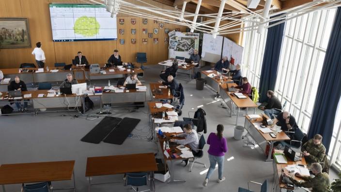 Katastrophenschutz-Lagezentrum