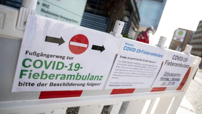 Coronavirus Deutschland Stuttgart