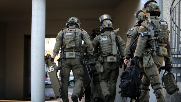Polizeieinsatz nach Machetenangriff