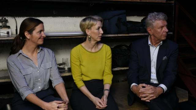Die OB-Wahl ist entschieden,jetzt verhandeln Kristina Frank (CSU), Katrin Habenschaden (Grüne) und Dieter Reiter (SPD) über Bündnisse.