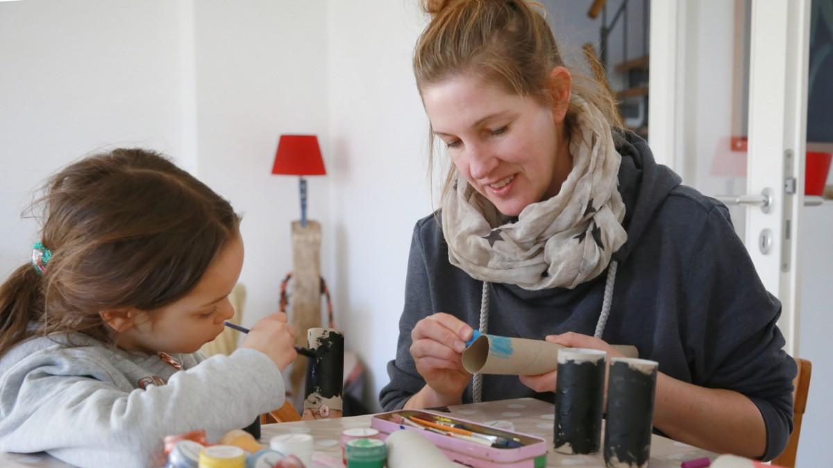 München: Erzieherinnen geben Basteltipps
