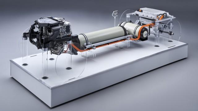 Fahrzeugstudie mit Wasserstoffantrieb: BMW i Hydrogen NEXT. Copyright BMW, Online-Rechte frei.